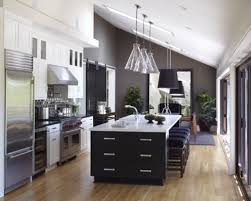 large kitchen designs with islands one wall kitchen designs with an island