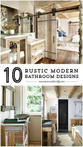 Rustic Modern Bathroom Rustic Modern Bathroom Designs Modern Bathroom Design Rustic