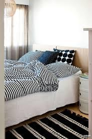 scandinavian bedding home design ideas