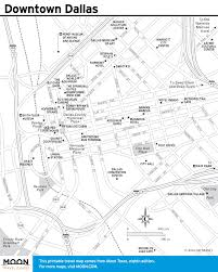 Dallas Map by Downtown Dallas Map And Guide Downtown Downtown Map Maps