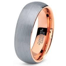 comfort fit titanium mens wedding bands tungsten wedding band ring 7mm for men women comfort fit 18k