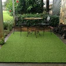 Outdoor Grass Rug Indoor Outdoor Artificial Turf Grass Rug 5 X 12 Overstock
