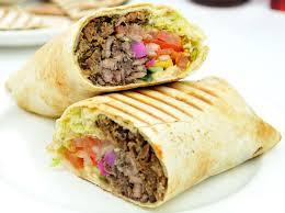 arabic wrap shawarma