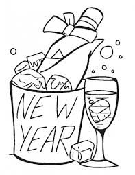8 best new year coloring pages images on pinterest coloring