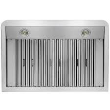 36 Under Cabinet Range Hood Stainless Steel Golden Vantage Gv Rh 0247 36