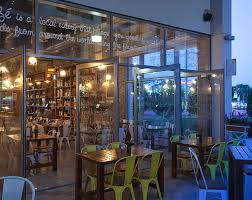 Outdoor Cafe Lighting by Cafe Wasl Square Dubai Go Industrial