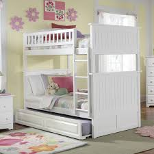White Wooden Bunk Bed White Classic Beadboard Bunk Bed Rosenberryrooms