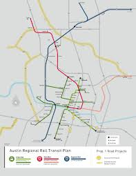 Map Of Austin Is A Light Rail Line Going To Solve Austin U0027s Traffic Problems Kut