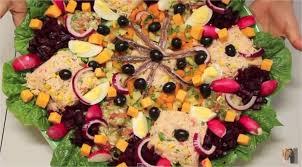 cuisine de sousou vidéo sousou kitchen recette salade variée niçoise