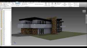 modern house building autodesk inventor modern house build youtube