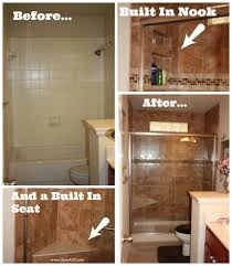 Diy Bathroom Makeover Ideas - bathroom remodel tub to shower project bathroom remodels on a