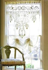 Lace Cafe Curtains Cotton Lace Cafe Curtains Uk Memsaheb Within Lace Cafe