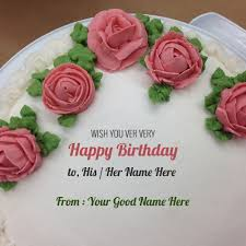 birthday cake with name edit option online clipartsgram com