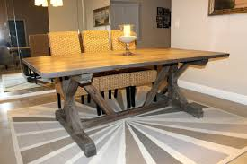 rustic pine dining table pedestal tables amish dining room tables