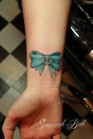 tattoos wrist bow tattoos
