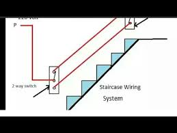 staircase 2 way switch wiring in hindi yk electrical youtube