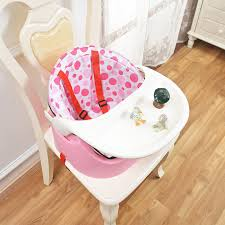 Booster Seat Dining Chair Baby Booster Seat Feeding Chair Table Toddler Safety Toys Tray