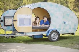 See the world on wheels this adorable small caravan is the