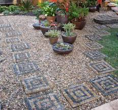16 best pebble path walk ways images on pinterest stone mosaic