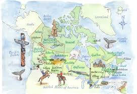 Newfoundland Canada Map by Map Of Canada Our Country U003c3 Pinterest Ontario