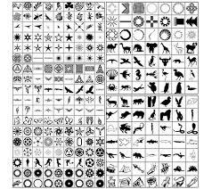 1300 adobe photoshop custom shapes for tutorialchip
