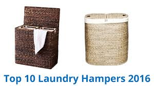 double laundry hamper with lid 10 best laundry hampers 2016 youtube