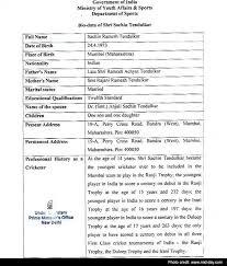 bio vs resume sachin tendulkar bharat ratna latest news photos videos on