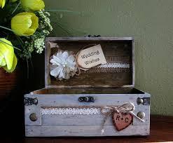 wedding wishes card box wedding trunk small wedding box rustic wishes trunk wedding