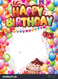 card happy birthday gift card template