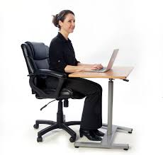 Sitting To Standing Desk by T Zone Health