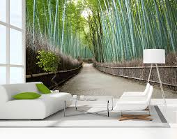 bamboo grove wall mural your decal shop nz designer wall