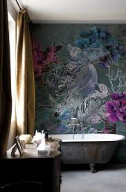 wallpaper bathroom ideas make your home bloom with these floral wallpaper ideas decoholic