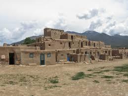 pueblo adobe houses happy times two taos pueblo chimayo ghost ranch