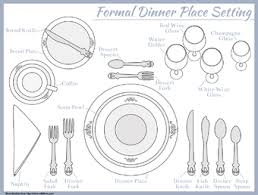 how to set a formal table 3 ways to set a table wikihow