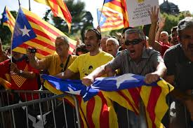catalonia lawmakers approve holding vote for independence from