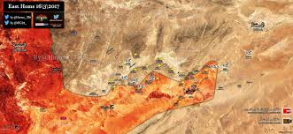 Likely Syrian Missile Targets In Google by Syrian Army Liberates Palmyra Gas Fields As Isil U0027s Defenses