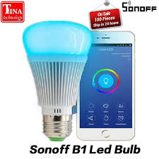 wifi enabled light bulb sonoff b1 led bulb dimmer wifi smart light bulbs remote control wifi