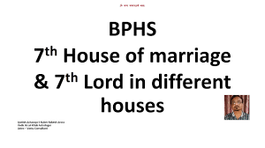 7th lord in different houses youtube