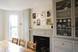 Dining Room Table With Wine Rack Wine Rack Fireplace Photos Design Ideas Remodel And Decor Lonny