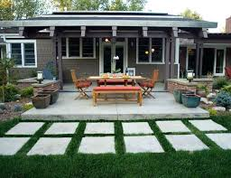 Cost Of Concrete Patio by Concrete Patio Installation Cost Per Square Foot Stained Concrete