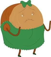 Plant Nanny Wiki Cinnamon Bun In Dress Adventure Time Wiki Fandom Powered By Wikia