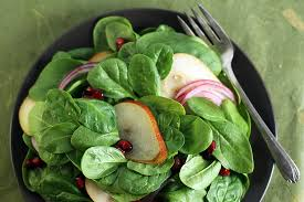 spinach salad with pears and pomegranate recipe
