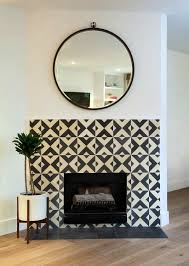 Mosaic Tile Fireplace Surround by 24 Best Fireplace Ideas Images On Pinterest Fireplace Ideas