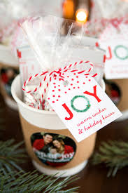 holiday gift idea cup of cocoa gift u0026 favor ideas from evermine