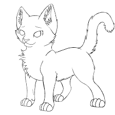 warrior cat free coloring pages on art coloring pages