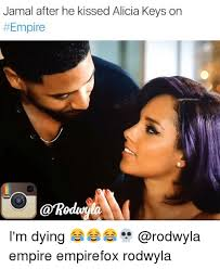 Alicia Keys Meme - jamal after he kissed alicia keys on empire i m dying