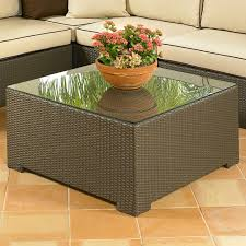 malibu large square coffee table by northcape international on