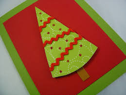 christmas tree card ideas christmas lights decoration