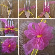 satin ribbon bows diy ribbon bow with a fork satin decorating and easy
