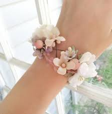 prom corsage ideas silk dresses wedding corsage wrist bridal cuff 2226837 weddbook
